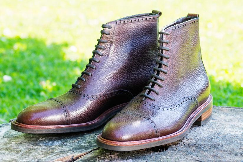 long wing bespoke boots