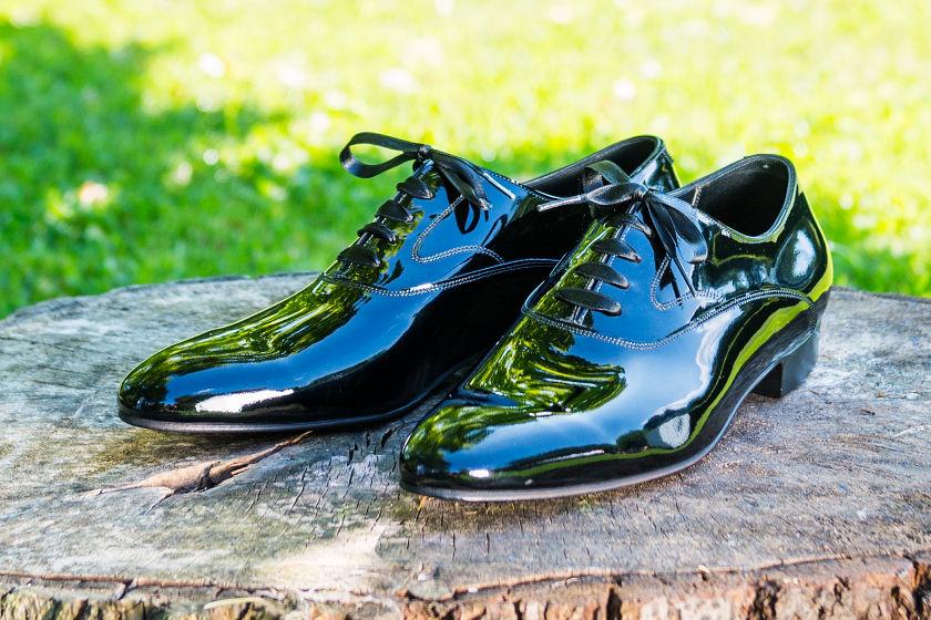 patent oxford bespoke shoe