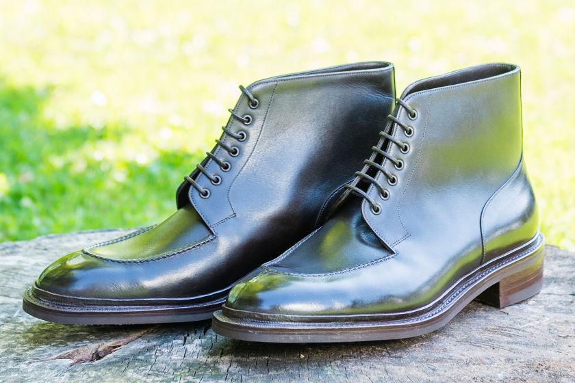 Blucher bespoke boots