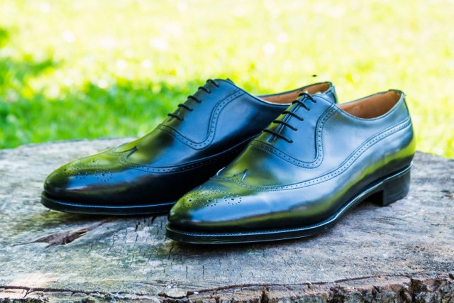 brogue bespoke shoes