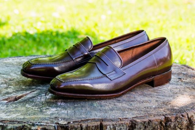 bespoke loafer shoes
