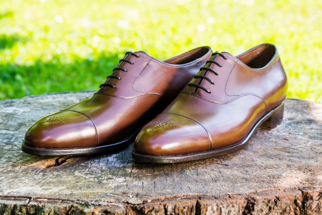 bespoke oxford shoes