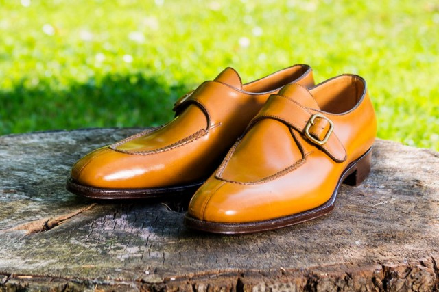 bespoke monkstrap shoes