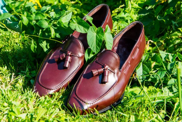 bespoke loafer shoes