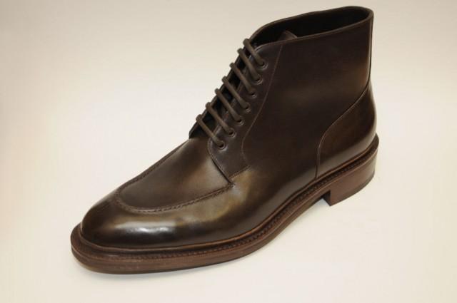 bespoke derby boots